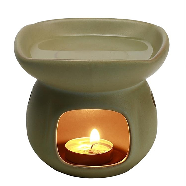 香薰爐蠟燭加熱精油燈 陶瓷熏香爐