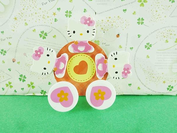 【震撼精品百貨】Hello Kitty 凱蒂貓~造型夾-5入夾子-緞帶圖案