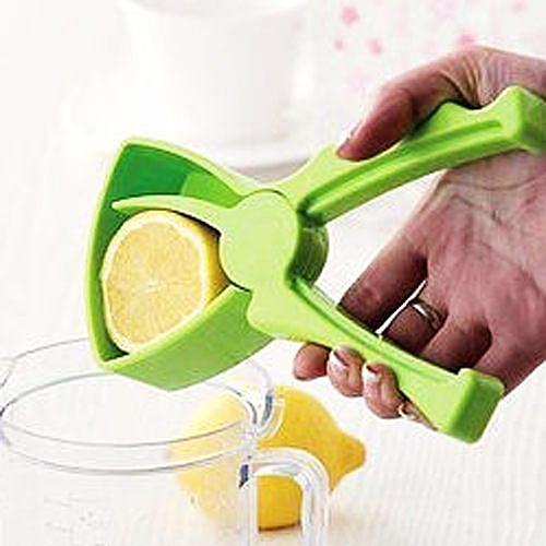 Qmishop 環保又健康DIY動手 榨果汁簡易擠壓手動漏滴式榨汁器 檸檬/柳橙【QJ246】