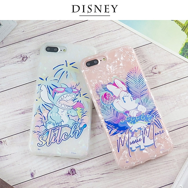 Disney迪士尼iPhone 7/8 Plus五彩貝殼系列手機殼_經典系列