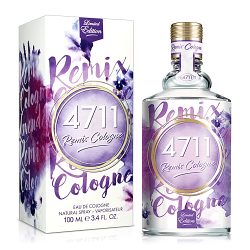 No.4711 Remix Cologne Lavender經典薰衣草古龍水(100ml)【ZZshopping購物網】