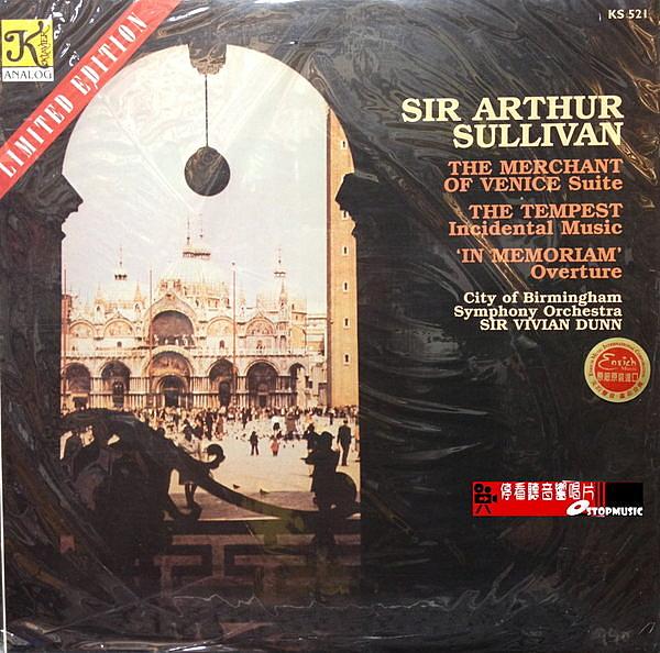 【停看聽音響唱片】【黑膠LP】SIR ARTHUR SULLIVAN