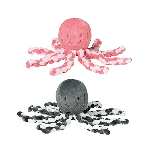 比利時 Nattou 絨毛安撫玩偶/寶寶玩具- 呆章魚