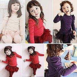 韓版《典雅泡泡袖》可愛長袖上衣