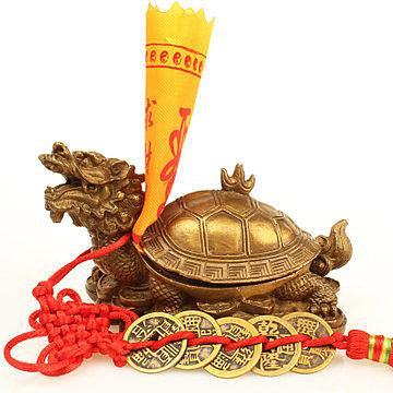 【中】銅龍龜(開蓋)