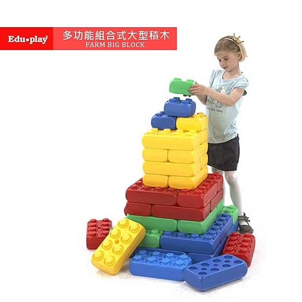 韓國 Edu-Play 多功能組合式大型積木(48PCS)
