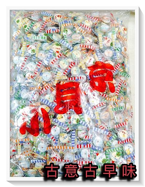 古意古早味 口笛糖 (單包裝/3000公克) 懷舊零食 口哨糖 嗶嗶糖 童年回憶 糖果