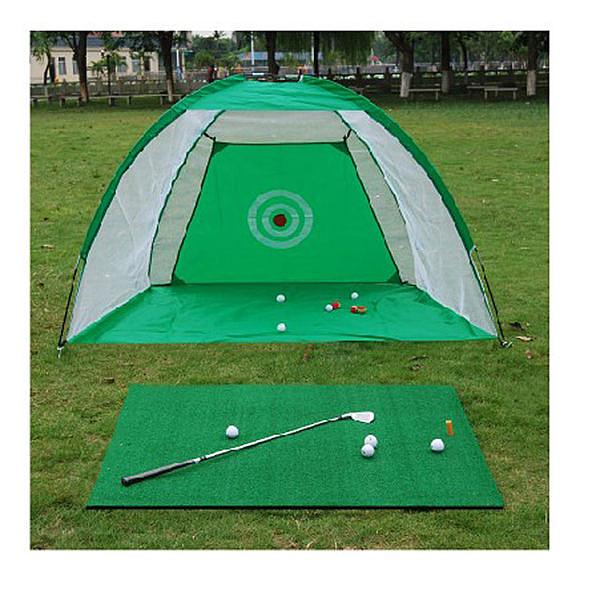 1*1.25m 大型 高爾夫揮桿打擊墊 + 3公尺 大型 高爾夫揮桿練習網 【GOLAA5】(超商不能寄)