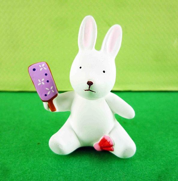 【震撼精品百貨】日本動物擺飾-兔子