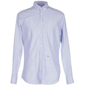《セール開催中》DSQUARED2 メンズ シャツ ブルー 48 コットン 100%