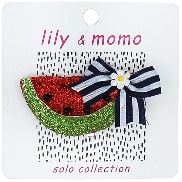 【美國 Lily & Momo】手工童趣髮飾- 清涼小西瓜 #HCA421