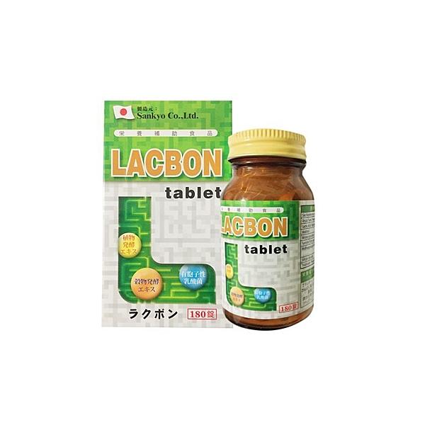 日本製造 LACBON 樂可胖錠 180錠裝【瑞昌藥局】013285 消化酵素 全素