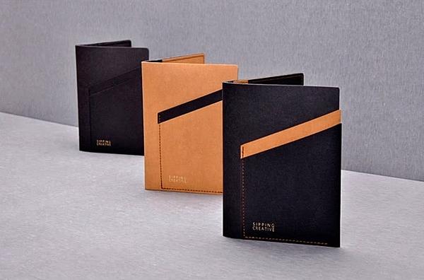 新竹【超人3C】俬品創意 - 設計款紙革護照夾 七層收納夾層,可收納兩本護照 輕薄好攜帶