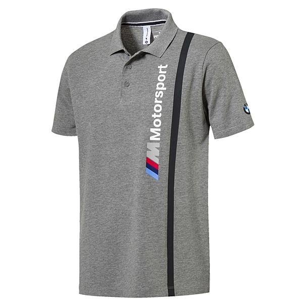 Puma BMW 灰 男 POLO衫 短袖 襯衫 T恤 運動上衣 棉T 短袖 高爾夫 運動 休閒 上衣 57665303