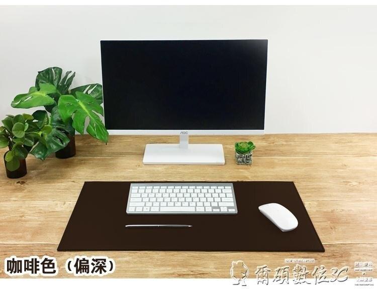 滑鼠墊 尺寸皮質辦公桌墊鎖邊訂制加厚寫字墊臺墊皮滑鼠皮墊