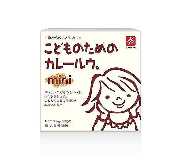 【日本CANYON】 兒童咖哩塊 mini-原味咖哩 調味 咖哩 天然 健康 幼兒 兒童 可食 燉飯