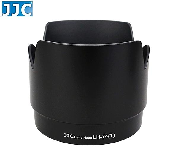 又敗家@黑色JJC蓮花型Canon副廠ET-74遮光罩可反裝同原廠Canon遮光罩ET-74太陽罩EF 70-200mm小小黑F4L IS USM
