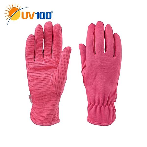 快速出貨 UV100 抗UV-經典女款短防曬手套