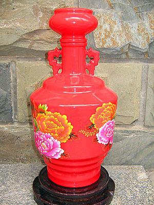 仿古雙耳酒瓶 陶瓷五斤裝密封