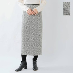 【30%OFF】【クーポン対象】yangany ヤンガニー ジャガードロングタイトスカート f-5754  2019aw新作