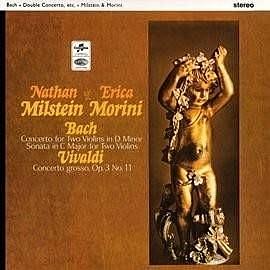 【黑膠LP】巴哈雙小提琴協奏曲及奏鳴曲 & 韋瓦第大協奏曲 / 米爾斯坦 & 莫莉妮