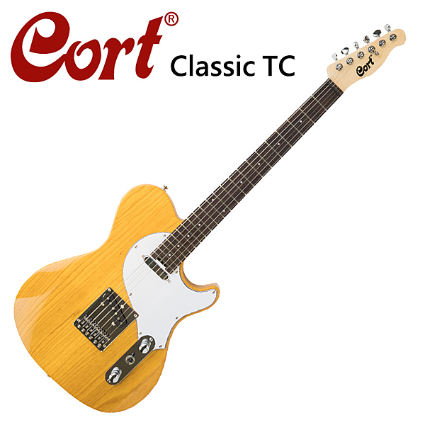 ★CORT★Classic TC-SBN 嚴選電吉他-原木色