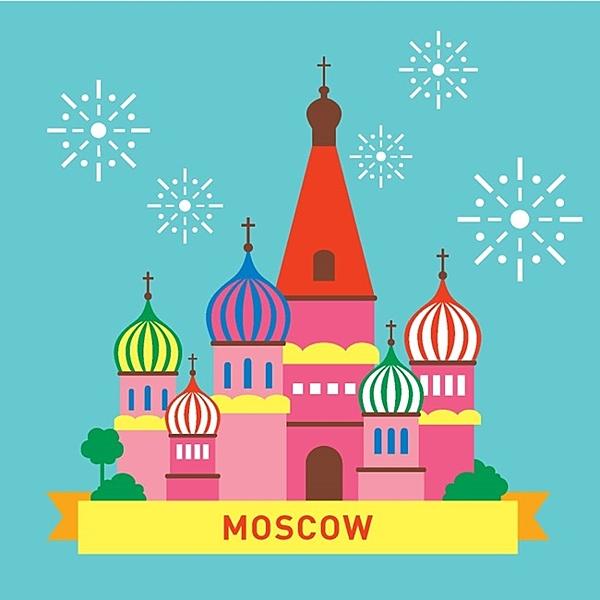 LOVIN 超萌韓版數字油畫 城市系列 莫斯科(6) 1幅