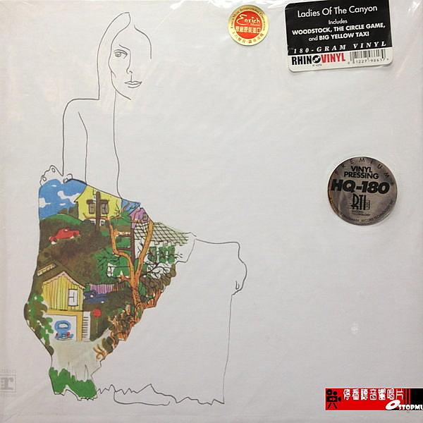 【停看聽音響唱片】【黑膠LP】JONI MITCHELL.LADIES OF THE CANYON