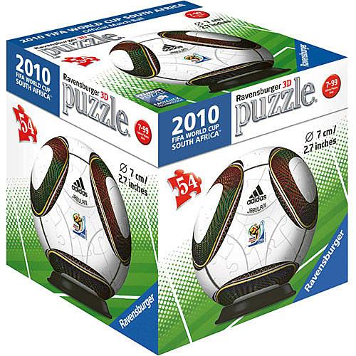 德國Ravensburger維寶拼圖 2010世界盃指定球3D拼圖(54P)_ RV99275