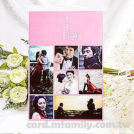 相片喜帖【寄囍】 100份.編號p002-i (特色喜帖 創意婚卡) 幸福朵朵