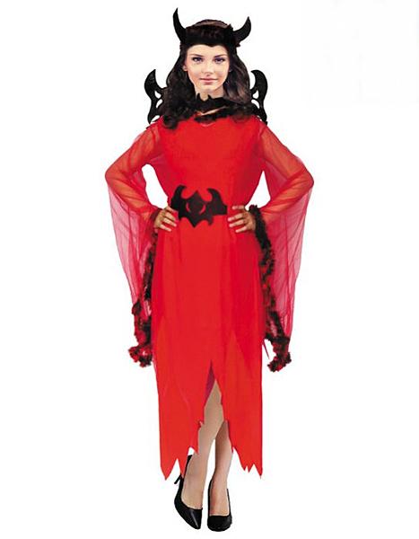 成人服裝壞皇后服裝-紅】女巫婆萬聖誕節表演服舞衣道具cosplay大人造型白雪公主裙灰姑娘服裝