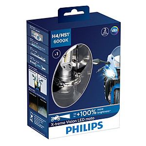 PHILIPS X-TREME VISION LEDH4/HS1鐳神光