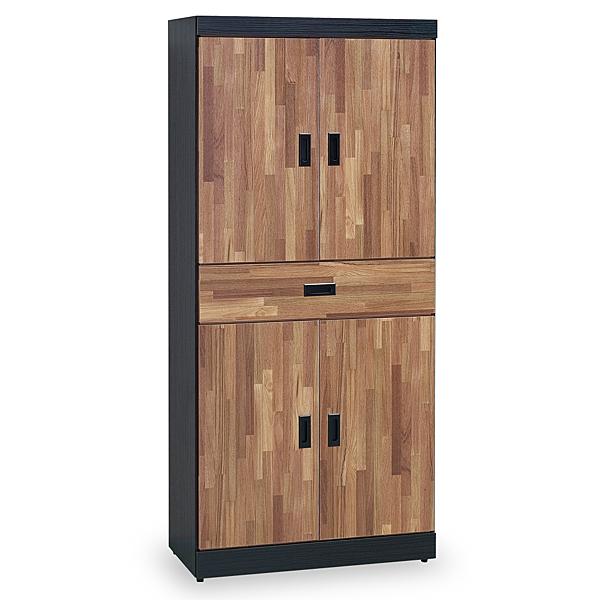 【時尚屋】[G18]本森積層木6尺高鞋櫃G18-391-1免組裝/免運費/鞋櫃