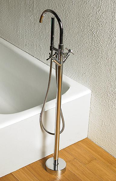 【麗室衛浴】 落地式浴缸花灑龍頭 F-P9640