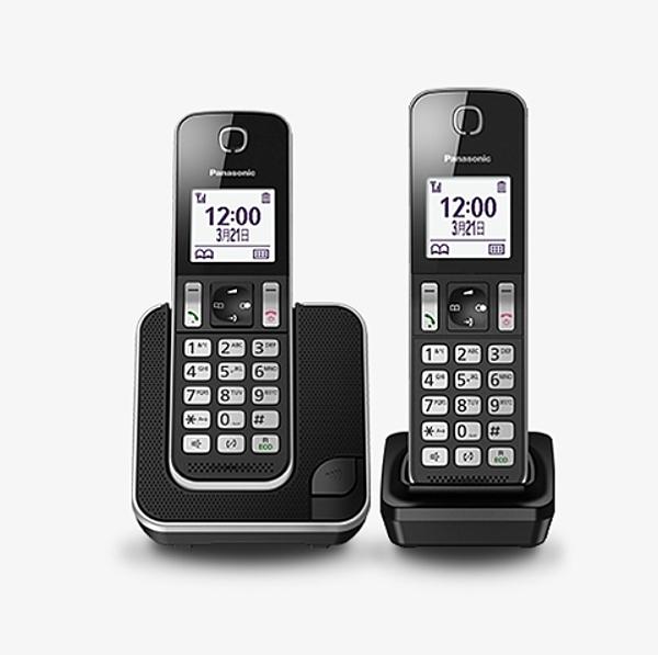 Panasonic 國際牌 DECT數位無線電話 KX-TGD312TWB