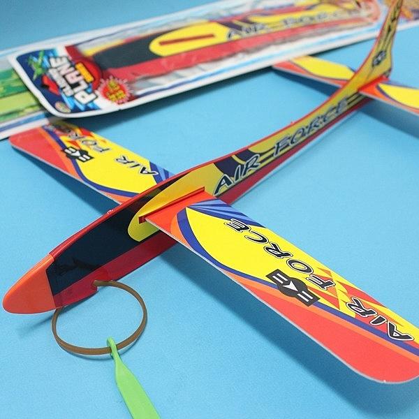 36cm 保麗龍彈射飛機 510-11 大滑翔機/一支入(促35) 高空滑翔機 童玩飛機-首510-11