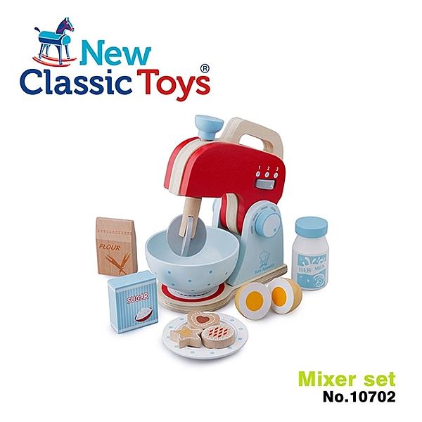 【荷蘭 New Classic Toys】木製家家酒攪拌機 10702