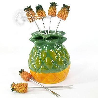 可愛菠蘿水果叉