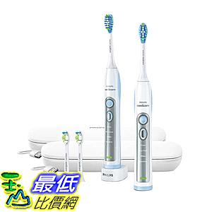 [107美國直購] 電動牙刷 Philips Sonicare Flexcare Whitening Edition Toothbrush with Charging Travel Case - Wh