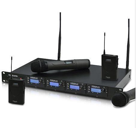 【名展音響】 嘉友 QR-4000U(S4) PLL數位鎖定自動選訊 模組式四頻道無線麥克風