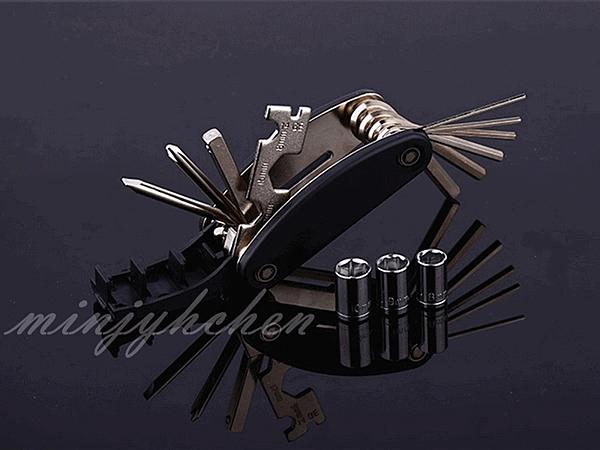 【JIS】B014 自行車萬用工具組 多用途維修工具 修車工具 多功能 小折 腳踏車