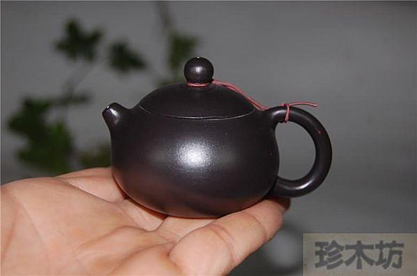 宜興正品紫砂(儲氏手拉小西施壺)