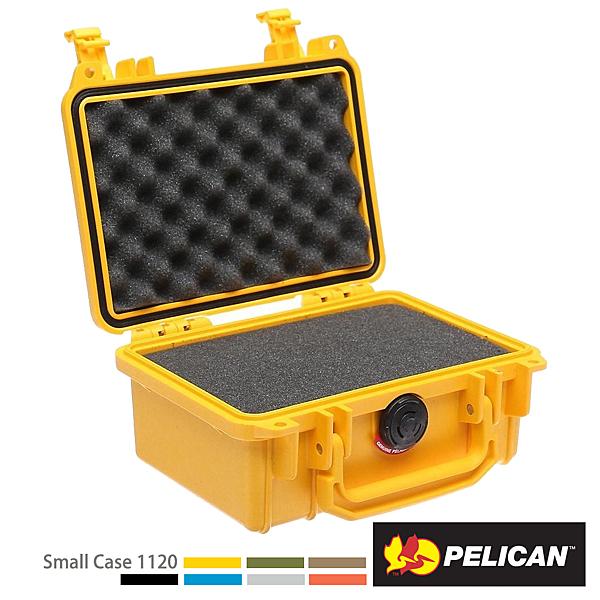美國 PELICAN 派力肯 塘鵝 1120 氣密箱-含泡棉 黃色 公司貨