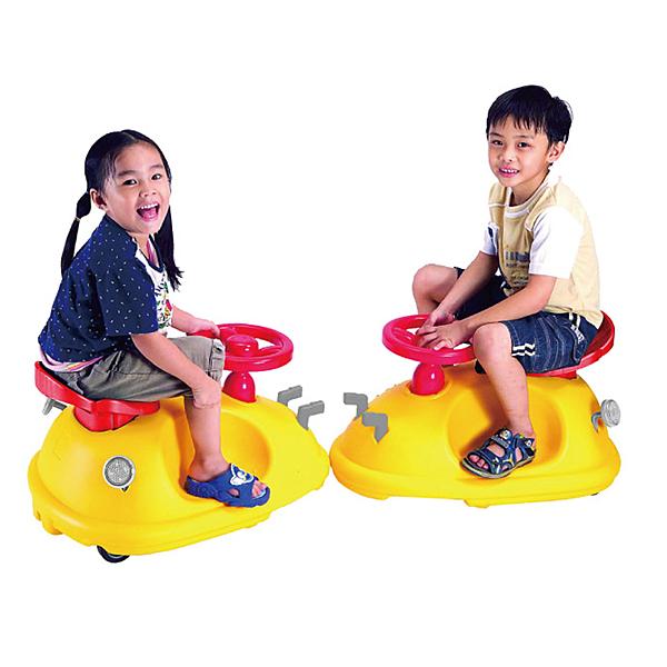 親親 黃灰紅扭扭車 CA-10 (ST安全玩具,台灣製造)