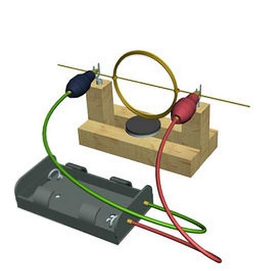 DIY 教育模型益智 科展模型材料【自制電動機】組