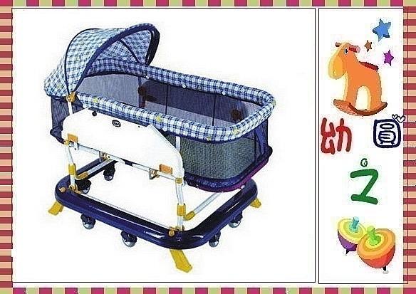 *幼之圓*ysf-601A台灣製多功能嬰兒水平式搖床~透氣布床墊~基本款