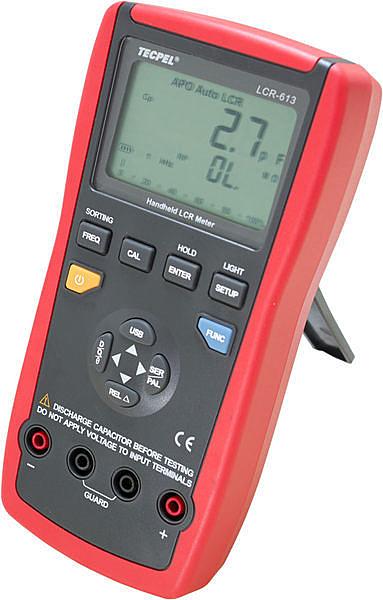 泰菱電子◆LCR613 LCR 錶 最大19999位數 電感 電容 電阻 LCR-613 掌上型4 1/2TECPEL