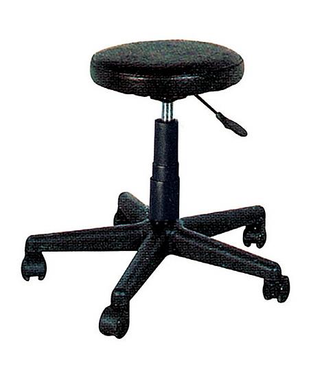 【IS空間美學】皮面圓椅(兩款尺寸可選)
