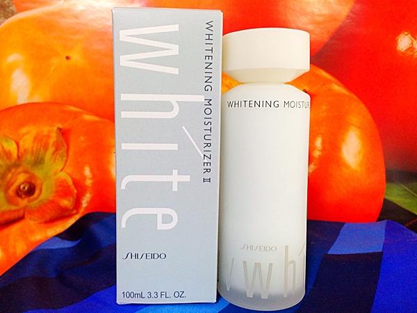 SHISEIDO資生堂優白UV White 活膚乳 100ML(II 滋潤)全新盒裝