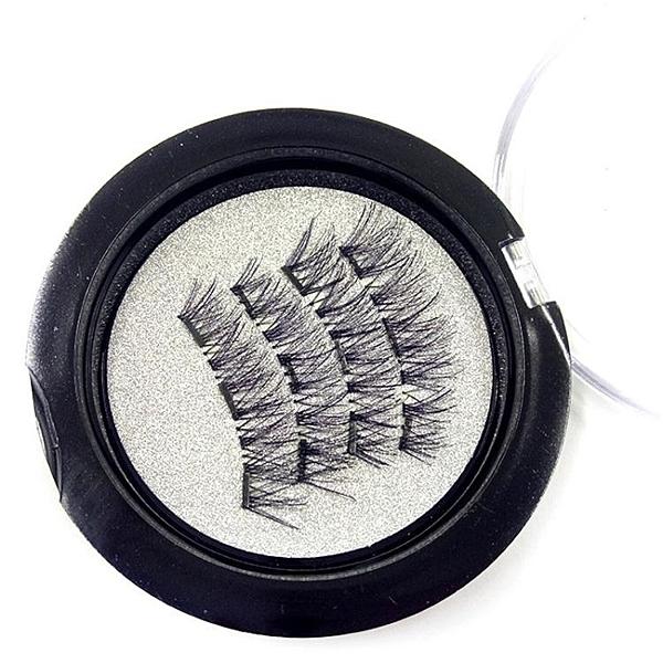 假睫毛 雙磁鐵假睫毛3D磁性假睫毛手工制作自然逼真磁鐵睫毛免膠水【限時八五鉅惠】